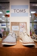 TOMS brogue's are great for work and play and available in Gibbons' Men's Department.